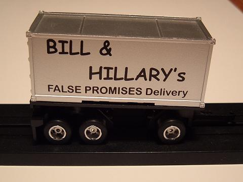 """Bill & Hillary"" Pup Trailer"