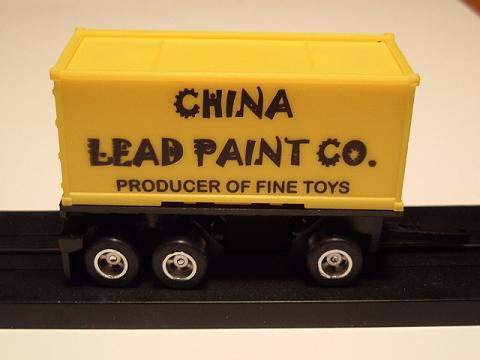 """China Lead Paint Co."" Pup Trailer"