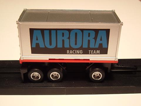 """Aurora Racing Team"" Pup Trailer"