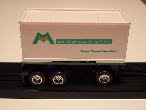 """Mountain Valley Express"" Pup Trailer"