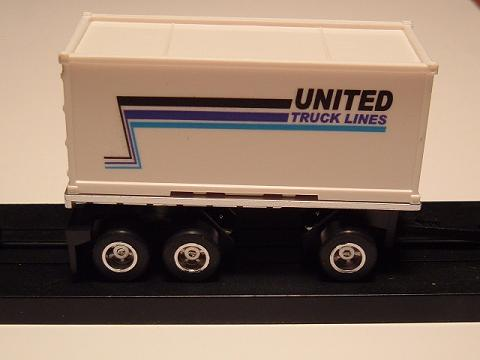 """United Truck Lines"" Pup Trailer"