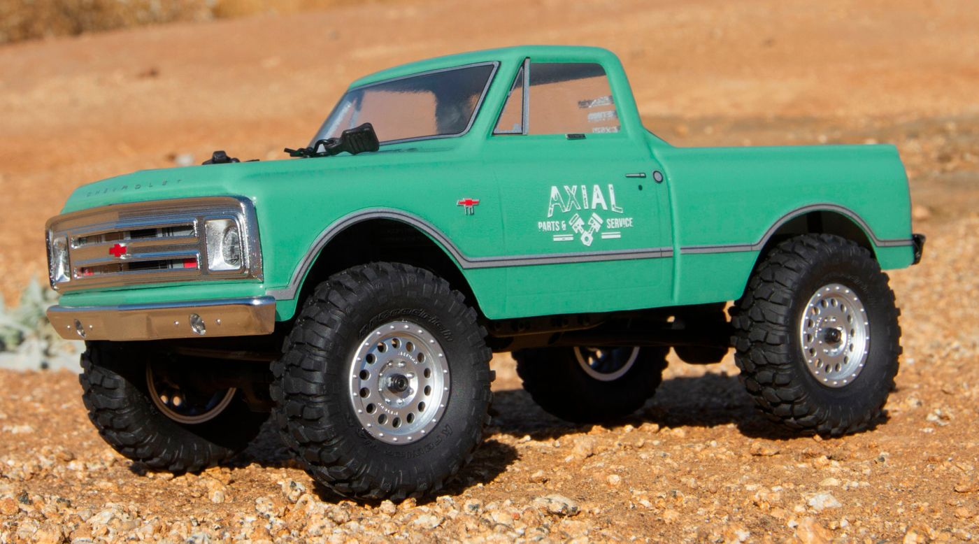 1967 Chevrolet C10 Brushed 1/24 4WD RTR