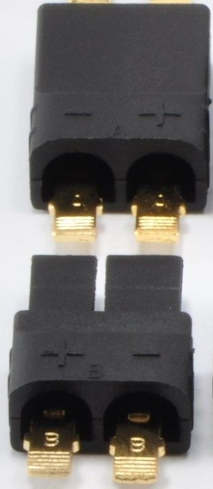 TRAXXAS TRX-style Connector Plugs for Lipo/NiMh Battery Mail/Female Set