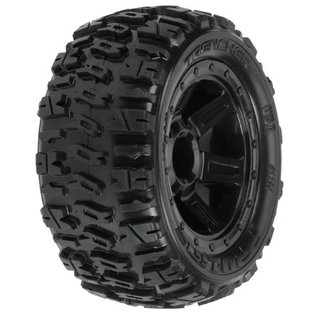 Trencher 2.2 M2 Titus Bead-LocMounted Monster Truck Tires (2)