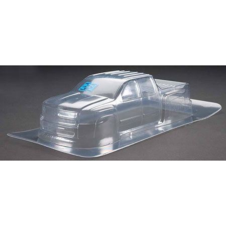 Stampede Chevy Silverdo 2500HD Clear 1/10 Truck Body: Stampede