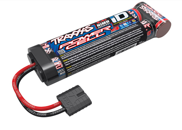 Series 4 4200mAh 8.4V 7C Flat NiMH with Auto Battery iD