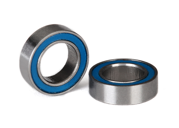 Ball Bearings Blue Rubber Sealed 6x10x3mm (2)