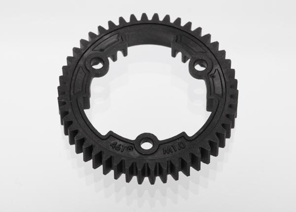 Spur Gear 46-tooth (1.0 metric pitch)