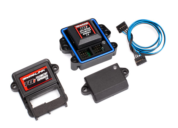 Traxxas Telemetry Expander 2.0 and GPS module 2.0 for TQi radio system