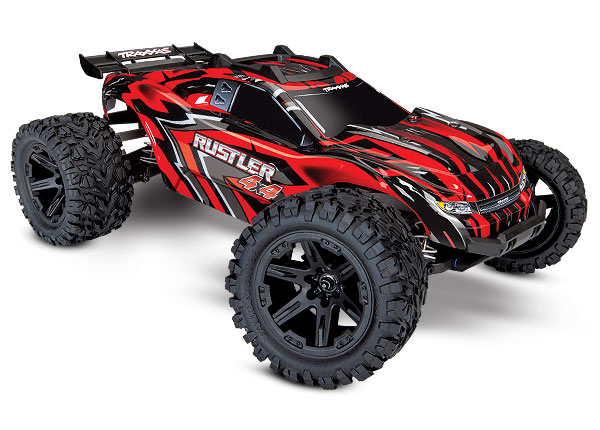 Rustler Monster Truck 4X4 Brushed No Battery/Charger RTR