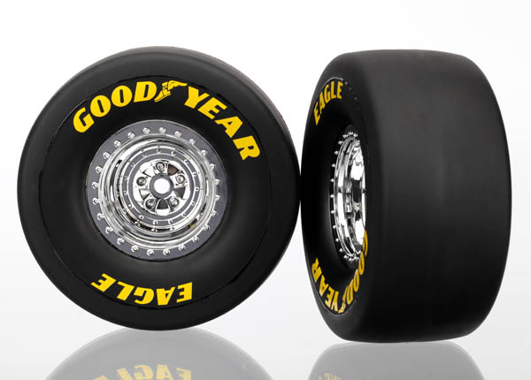 Goodyear Tires & Wheels Assembled Glued Slicks Rear (2)