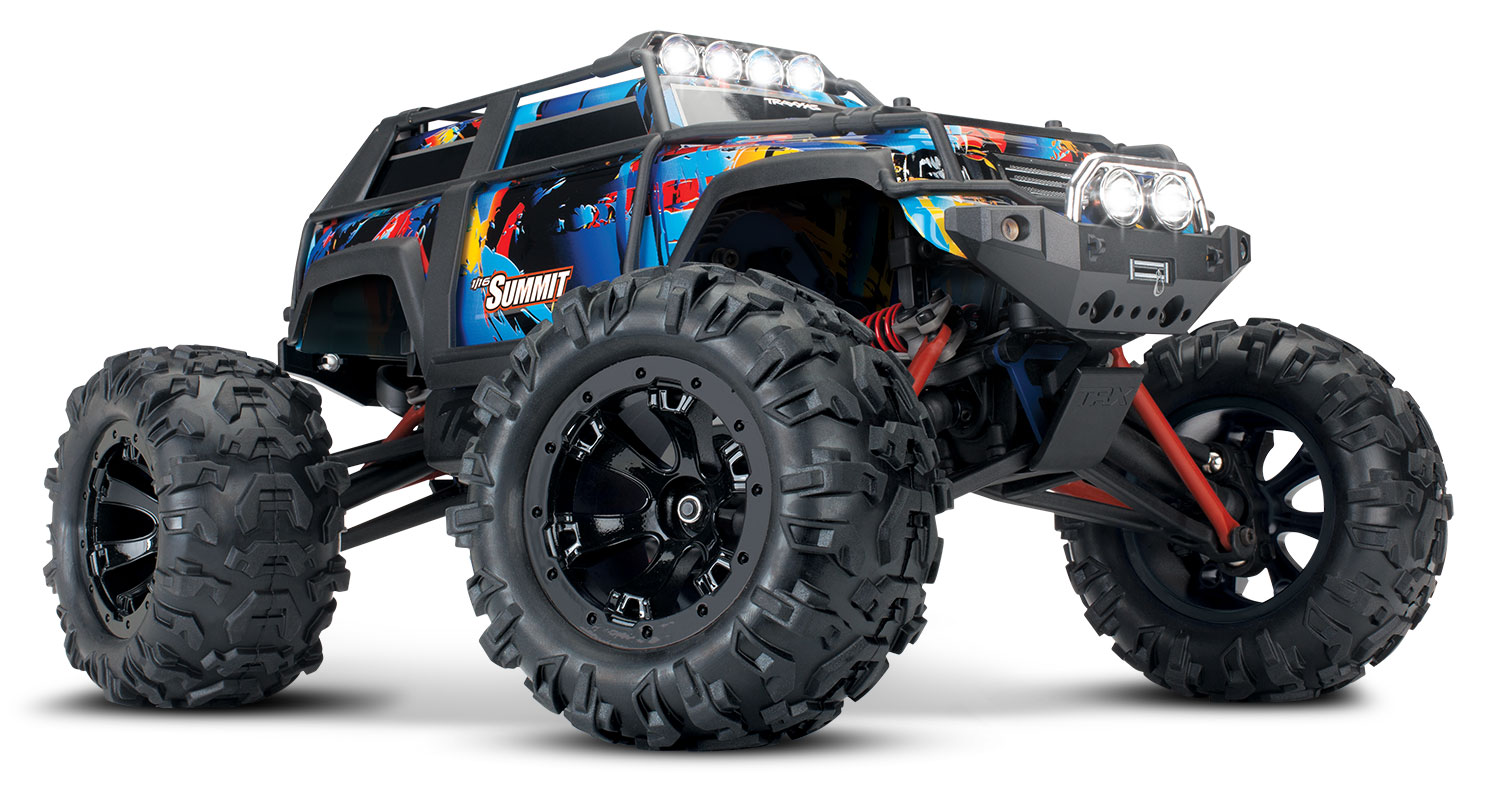 1/16 Summit Extreme Terrain Monster Truck 4WD RTR