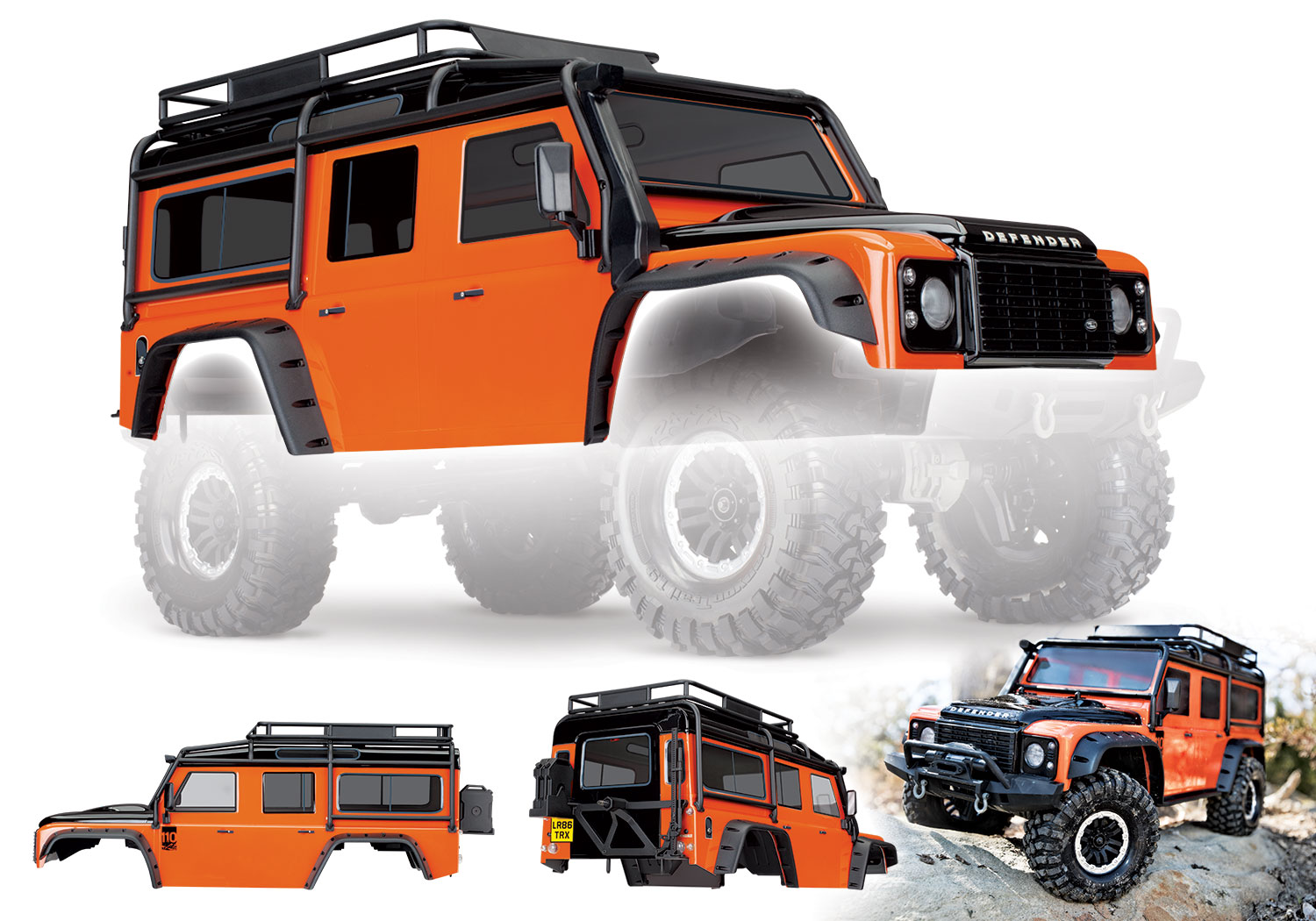 Land Rover Defender Body