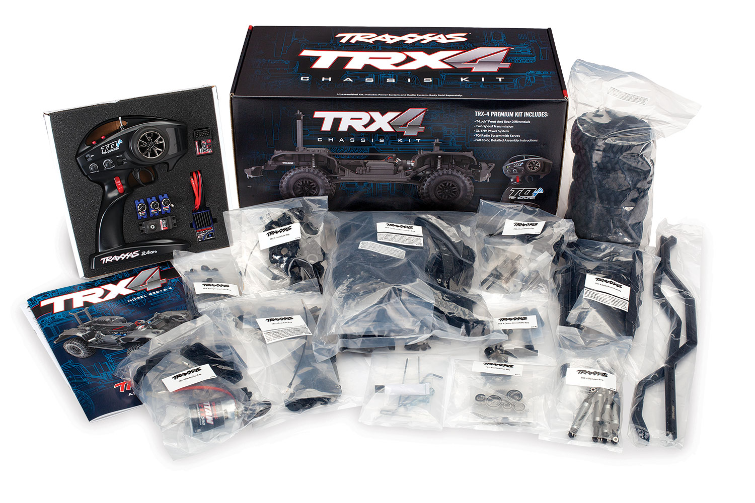 1/10 TRX-4 Scale & Trail Crawler Assembly Kit