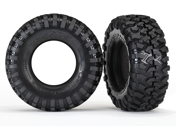 Canyon Trail 1.9 Tires with Foam Inserts S1 Compound (2)