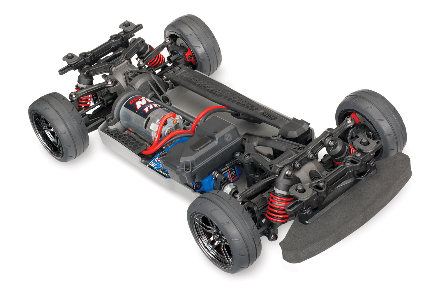 1/10 4-Tec 2.0 Chassis Brushed