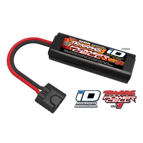 SERIES 1 1200mAh 7.2V 6C Flat 2/3A NiMH with Auto Battery iD