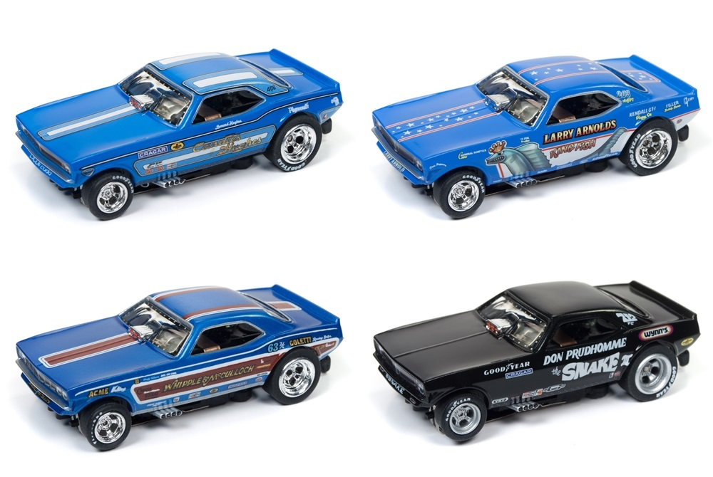 4G Rel 20 NHRA Legends 4 Car Set