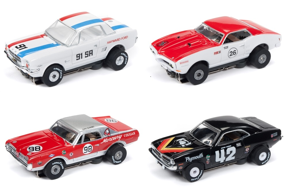 "TJet Rel 24 ""Trans Am Series"" 4 Car Set"