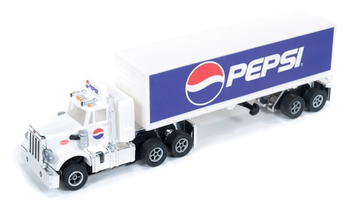 Pepsi Peterbilt with 40' Trailer