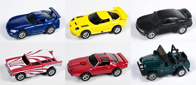 "XT Rel 6 6-Car Freewheeling Set Version ""A"""