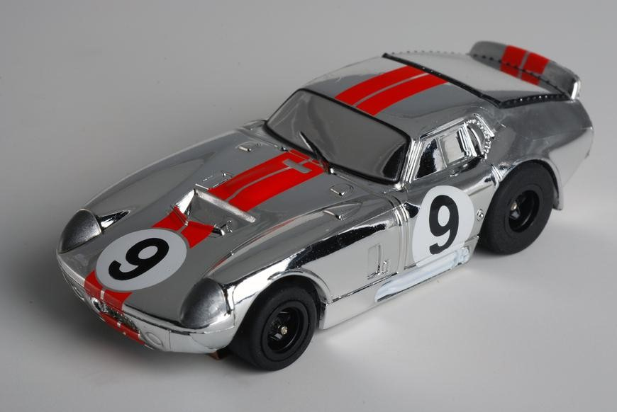Cobra Daytona Coupe #9 Chrome