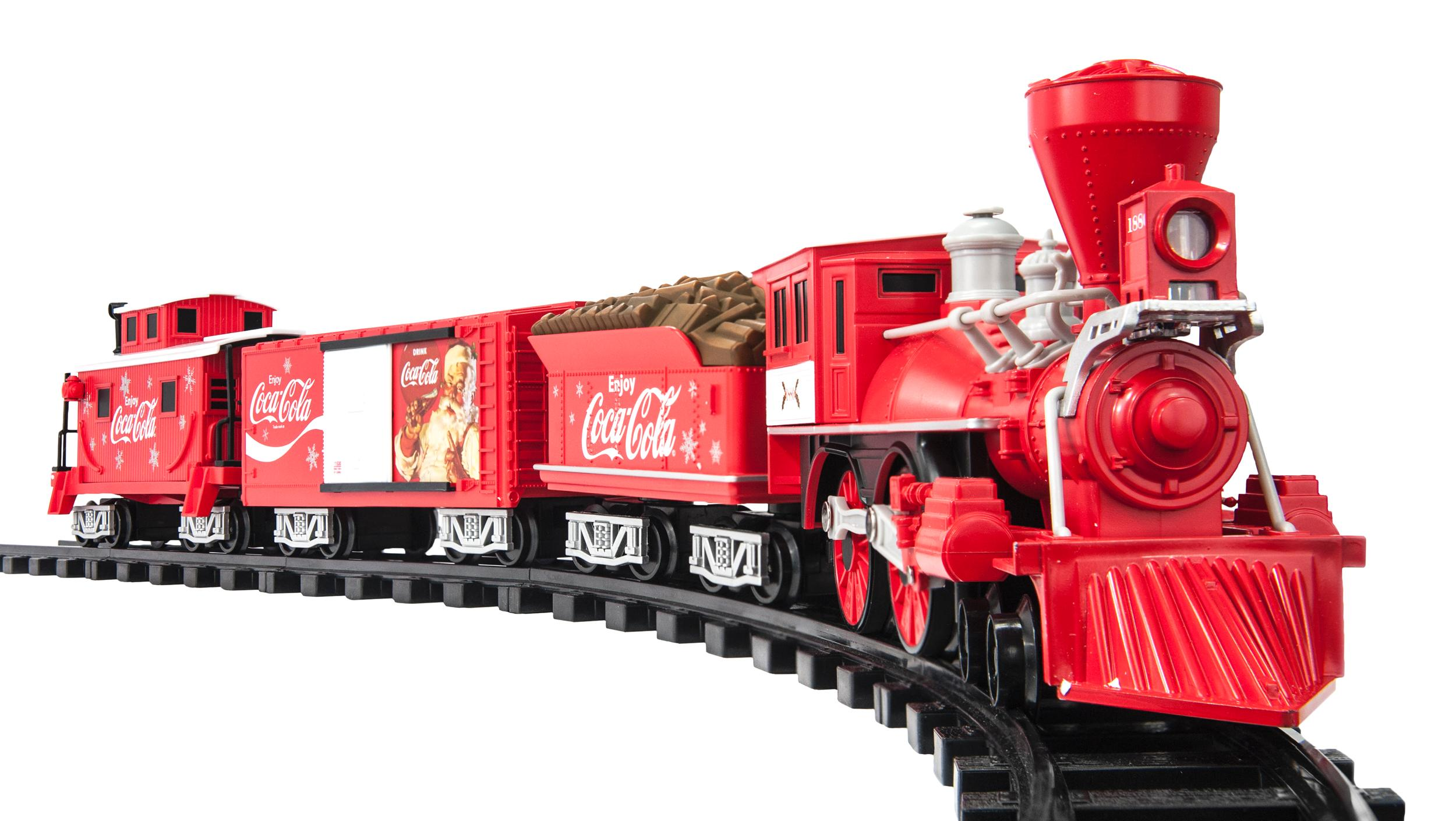 G-Scale Coca-Cola Battery Train Set