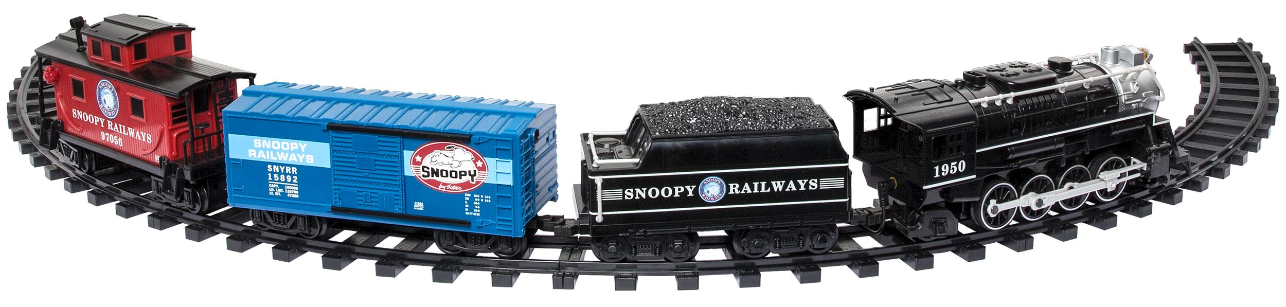 G-Scale Snoopy Railroad Battery Train Set