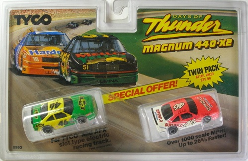 """Days of Thunder"" w/Air Dam Twin Pack"