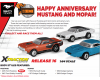 "XT Rel 16 ""Mustang/Hemi Anniversary"" By The Case"